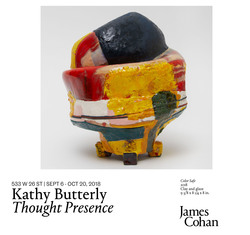 """James Cohan Gallery presents """"Kathy Butterly: Thought Presence"""""""